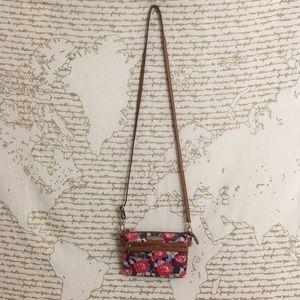 Rosetti Floral Anita Mini Crossbody Bag